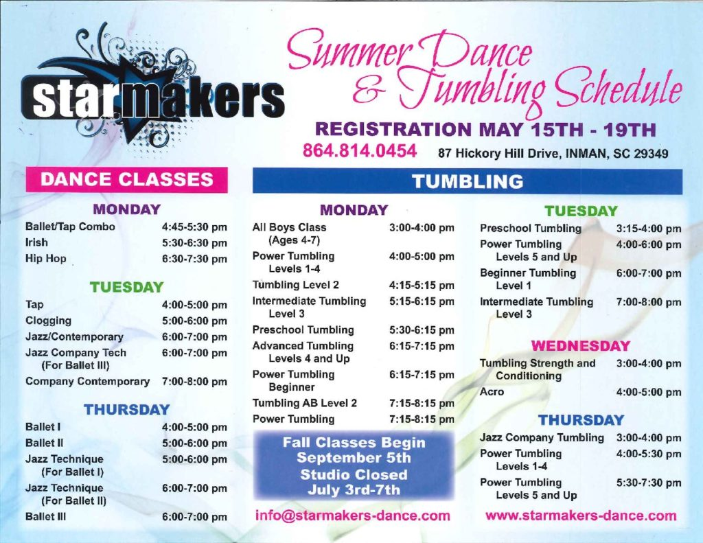 Home - StarMakers Dance Company